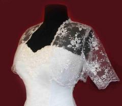 Bolero for the bride
