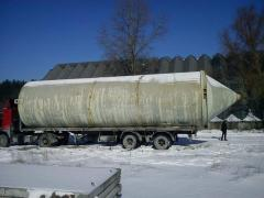 Bunker (silo) cement 10-120 cubic meters.
