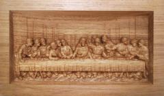"""Icon """"Last Supper"""" (da Vinci)"""