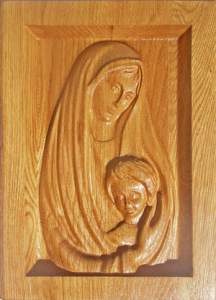 "Икона ""Богородица с Иисусом дитятем"""