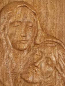 "Икона ""Богородица с Иисусом"""