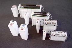 NiFe batteries accumulators