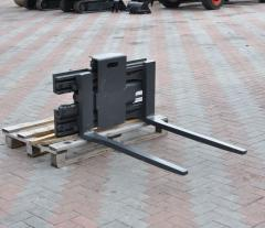 Extension equipment for forklifts