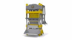 Brick press of TITAN 900-120 HPEX