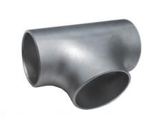 Tee of steel ravnoprokhodny