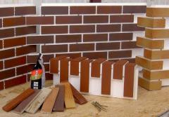 The facing tile, Brick ceramics, Tile front socle
