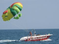 Parachute boat Flyride 32