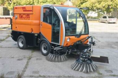 The sweeping harvester the CityCat 2020 model