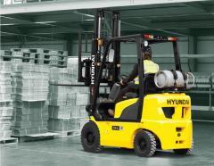 Вилочные газовые погрузчики Hyundai под заказ любой модели