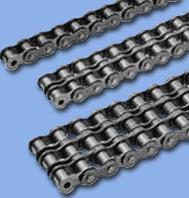 Цепи приводные роликовые, тяговые широко