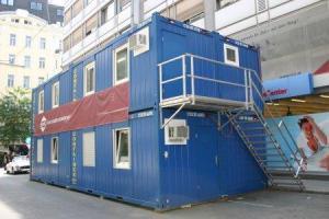 Block modules, block modular building, container,