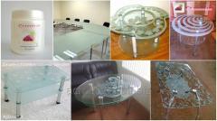 Матирующая паста и жидкость «GlassMat»