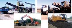 Завод по изготовлению щебня и бетонных изделий