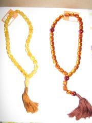 Muslim and Christian beads from the whole