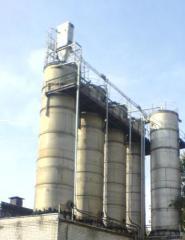 Bunker (silo) of alyuminevy 100 cbm