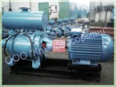 The UNIT of the WATER RING VACUUM PUMP WITH...