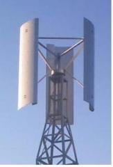 VERTICAL WIND TURBINE DPV Hybrid 1a (1 +1) of