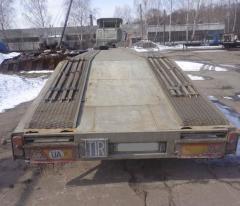 Semi-trailer platform