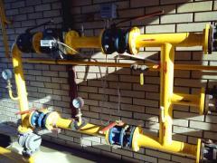 Системы учета природного газа, проектирование узлов учета газа