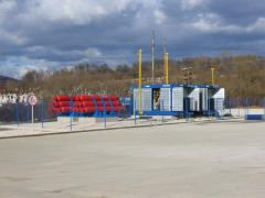 Automobile gas-filling compressor station of the