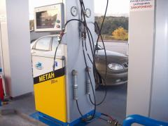 The gas Station for the CNG filling station