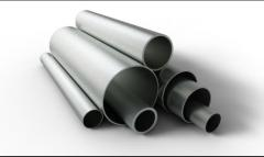 Pipes from titanic alloys for space branch