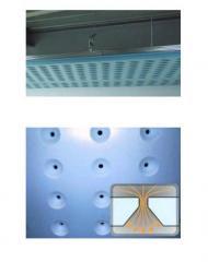 Потолок вентиляционный из перфорированной плиты