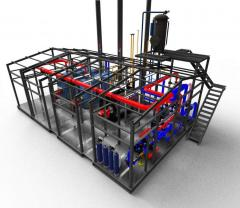 Boiler rooms transportable block and modular with
