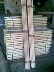 Черенки для лопат и грабель 1,2 м