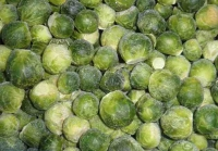 Brussels sprout. Weight goods