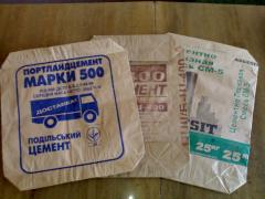 Мешки бумажные (крафт)
