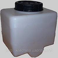 Plastic hydraulic tank under oil