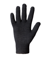 Glove knitted double (warmed)