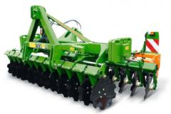 Compact disk harrow of Catros and Catros+,