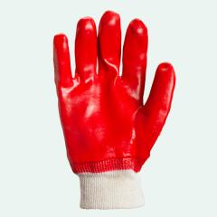 Gloves working MBS red (dense, qualitative)