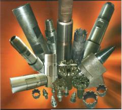 Chisels are sharoshechny, pneumatic impact tools, drill bits and other raskhodnik in assortment.