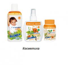 Natural organic children's oil, soap and
