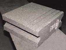 Bloques de piedra para el equipamiento tecnológico