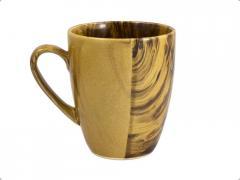 Чашка «Европа» радуга коричневая