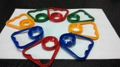 Handles for PET of bottles the Plastic handle for