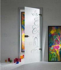 Doors glass interroom Emotions