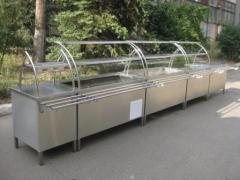 Maquinas e equipamento para lugares de alimentação