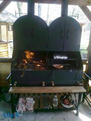 Мангал-печь, печи шашлычницы