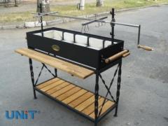Shashlychnitsa, brazier barbecue