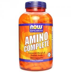 Аминокислоты NOW Amino Complete 360капс