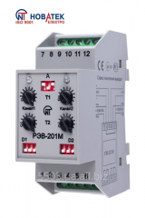 Time relay REV-201M, electronic two-channel