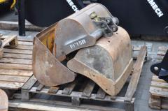 Ladles for second-hand excavators