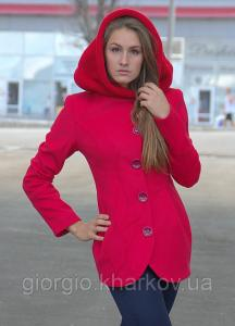 Куртка А-19 кашемир р.44-50 малина