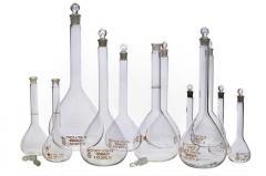 Колба мерная 4-200-2 (с пришлифованной пробкой)