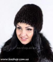 Inexpensive fur cap from a nutria